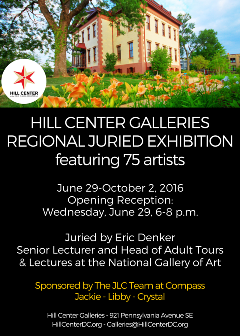 Hill Center 2016 Regional Juried Exhibition